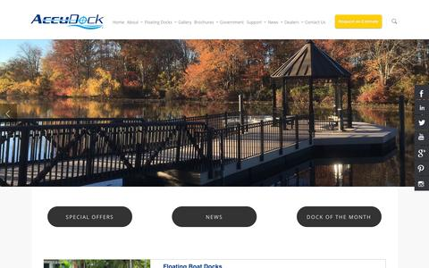 Floating Boat Docks And Swimming Platforms |
