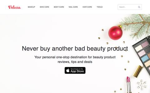 Veleza - Never buy another bad beauty product