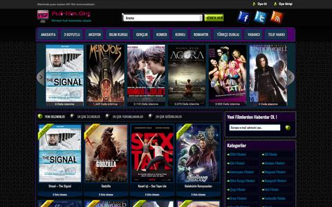 Screenshot of Home Page full-film.org - Full Film - Film izle, Full Film izle, Yabancı, Bedava - captured Sept. 18, 2014
