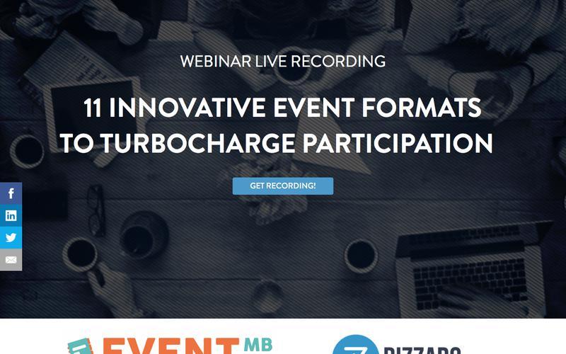 Webinar: 11 Innovative Event Formats