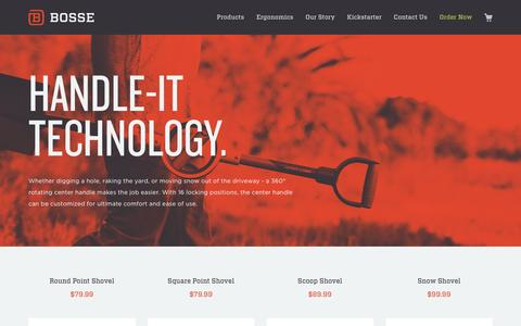 Screenshot of Products Page bossetools.com - All   BosseTools - captured Dec. 4, 2015