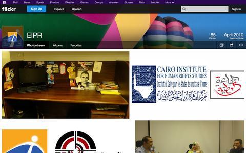 Screenshot of Flickr Page flickr.com - Flickr: EIPR's Photostream - captured Oct. 22, 2014