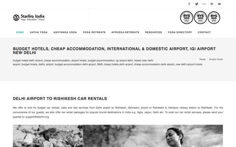 Budget Hotels, Cheap Accommodation, International & Domestic Airport, IGI Airport New Delhi