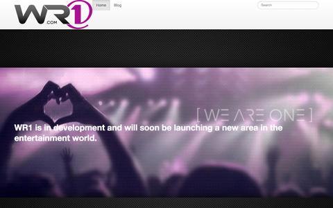 Screenshot of Home Page wr1.com - wr1.com - captured Oct. 7, 2014