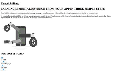 Monetize Your App with Placed Affiliate | Placed