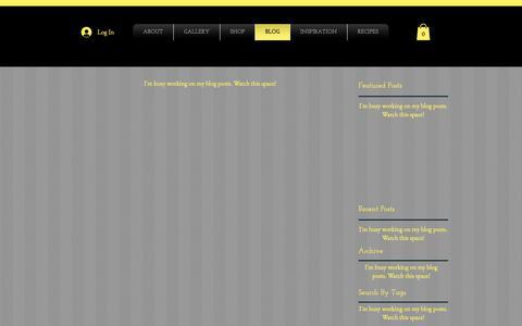 Screenshot of Blog 5thseasondesigns.com - 5th Season | Endeavours of Art Blog | 5thseasondesigns.com - captured Oct. 18, 2018