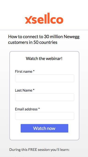 How to connect to 30 million Newegg customers in 50 countries
