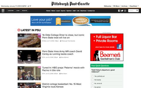 PSU I Pittsburgh Post-Gazette