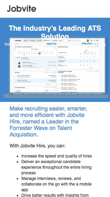 Watch the Jobvite Product Tour Video!
