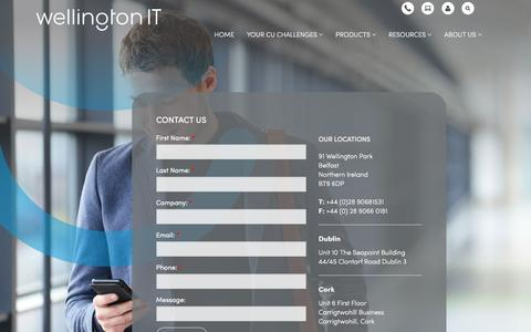 Screenshot of Contact Page well-it.com - Contact Us - captured Feb. 27, 2016