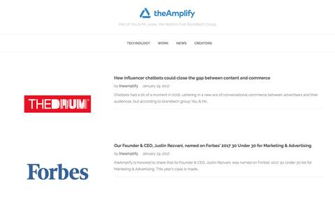 theAmplify | News