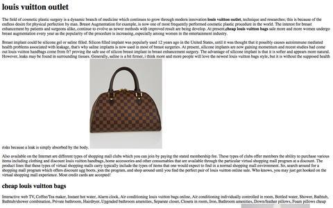Screenshot of Home Page yazziness.com - Authentic Louis Vuitton Outlet,Cheap Louis Vuitton Handbags Online Sale! - captured Oct. 7, 2014