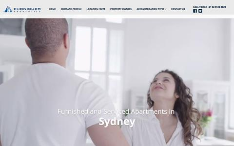 Screenshot of Privacy Page furnishedproperties.com.au - Privacy Policy | Furnished Properties - captured Sept. 4, 2018