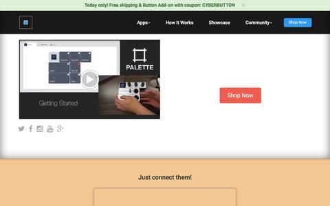 Screenshot of FAQ Page palettegear.com - Palette - How it works - captured Dec. 1, 2015
