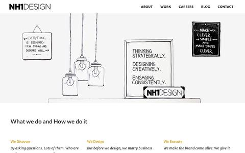 Screenshot of About Page nh1design.com - NH1 Design � About - captured Jan. 11, 2016