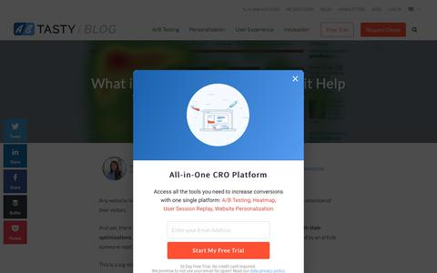 Heat Map » Optimize your Website with Heat Mapping