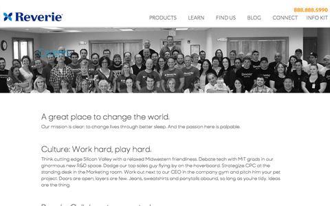 Screenshot of Jobs Page reverie.com - Careers - Reverie - captured June 14, 2017