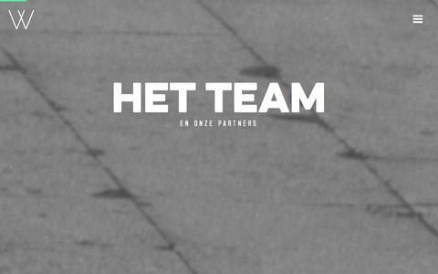 Screenshot of Team Page webbro.nl - Team - captured Jan. 10, 2016