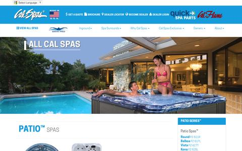 Maintenance at Calspas.com