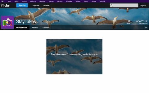 Screenshot of Flickr Page flickr.com - Welcome to Flickr! - captured Oct. 26, 2014