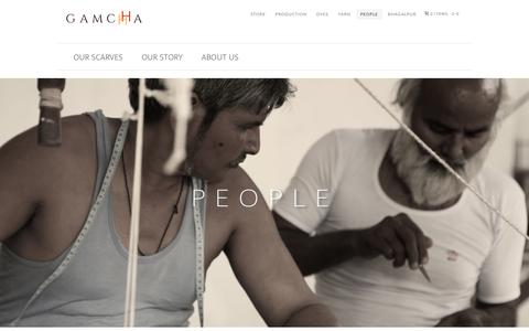 Screenshot of Team Page gamchha.com - People – GAMCHHA - captured Nov. 14, 2016