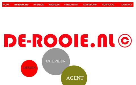 Screenshot of Home Page de-rooie.nl - De-Rooie.nl - captured Oct. 11, 2017