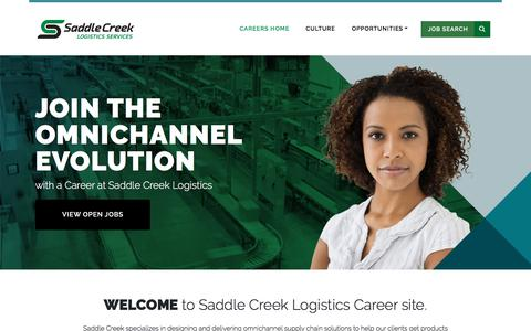 Careers - Saddle Creek Logistics Services