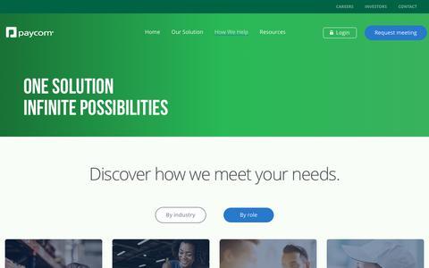 How We Help | Paycom
