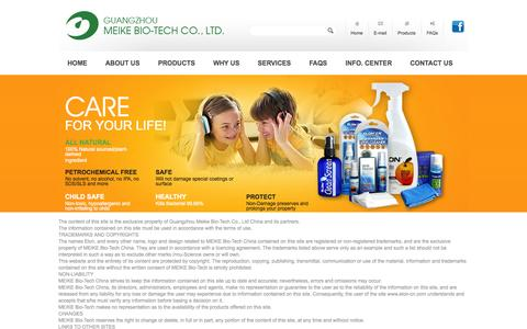 Screenshot of Terms Page eloncleaners.com captured Oct. 3, 2014
