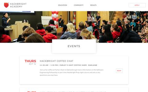 Events | Hackbright Academy