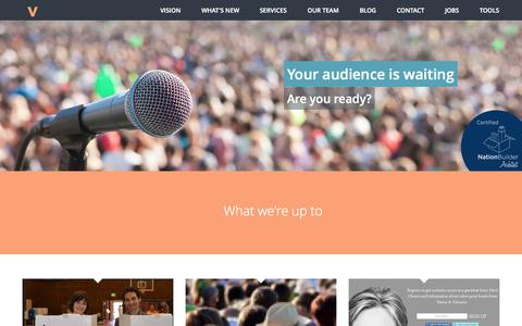 Screenshot of Team Page veracitymedia.com - Veracity Media - captured Oct. 26, 2014