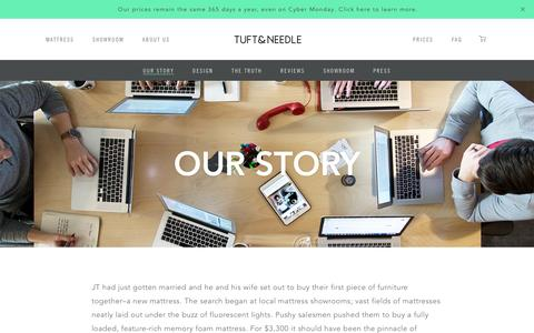 Our Story | Tuft & Needle