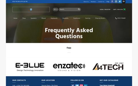 Screenshot of FAQ Page esrom.co.ke - FAQ – Esrom Investments Limited - captured Aug. 22, 2017