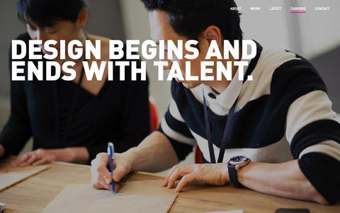 Screenshot of Jobs Page teague.com - Careers - TEAGUE - captured Jan. 12, 2019