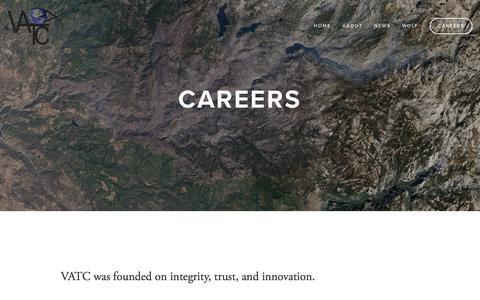 Screenshot of Jobs Page vatcinc.com - Careers Ń VATC - captured Jan. 16, 2016