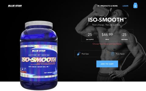 Iso Smooth | Blue Star Nutraceuticals