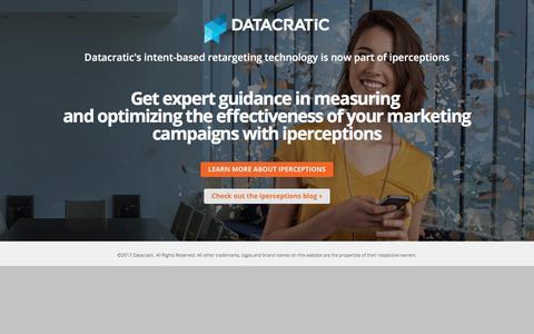 Intent-based retargeting | Datacratic
