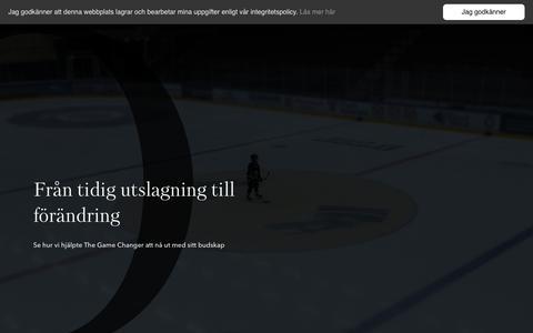 Screenshot of Home Page aloq.se - Aloq, webbyrå och it-konsult i Östersund - captured July 31, 2018
