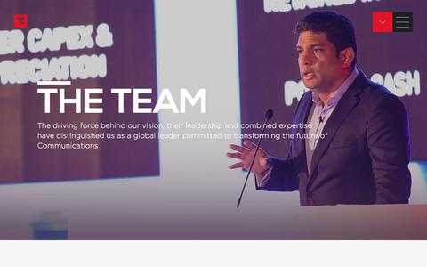 Screenshot of Team Page tanla.com - Enabling Cloud Communications.. - captured Sept. 24, 2018