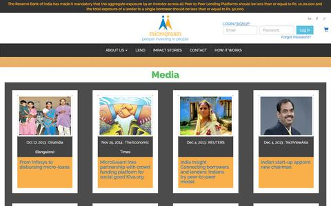 Screenshot of Press Page micrograam.com - Contact Us | MicroGraam - captured Nov. 15, 2018