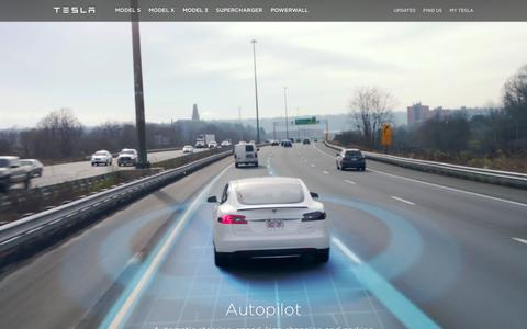 Screenshot of teslamotors.com - Tesla Motors Europe | Premium Electric Vehicles - captured April 5, 2016