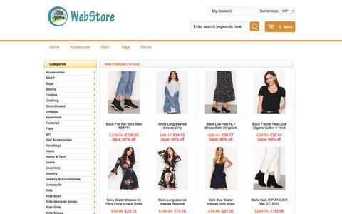 Screenshot of Home Page bselectrics.co.uk - mens gold hoop earrings,men dress shoes,folk espadrilles - captured July 21, 2018
