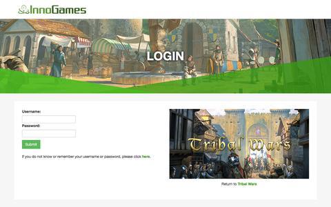 Screenshot of Support Page innogames.com - Login - InnoGames Support - captured Sept. 22, 2018