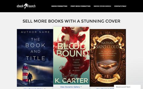 EBOOK COVER DESIGN | Ebook Launch – Ebook Formatting and Cover Design