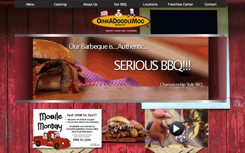 OinkADoodleMoo Smoky BBQ | Dayton's Championship Style Barbeque