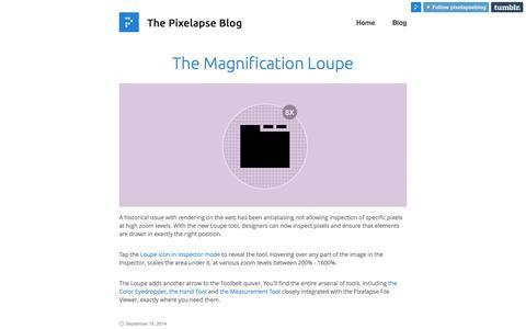 The Pixelapse Blog