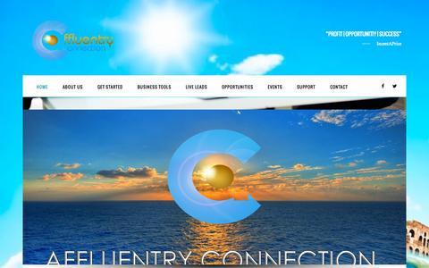 Screenshot of Home Page agenttrainingcenter.com - AgentTrainingCenter.com - captured Oct. 5, 2014