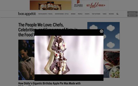 Screenshot of Team Page bonappetit.com - The People We Love: Chefs, Celebrities, and Everyone of Note in the Food World - Bon AppŽtit - captured Dec. 3, 2015