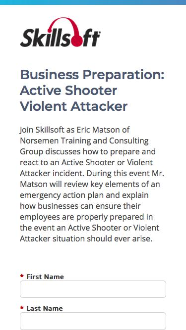 Business Preparation: Active Shooter Violent Attacker
