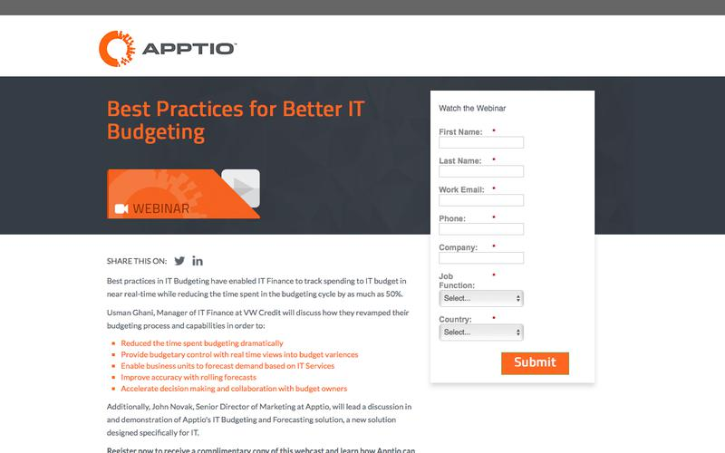 Best Practices for Better IT Budgeting